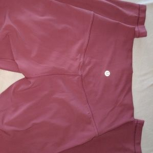 NWOT Lululemon align moss rose leggings size 4